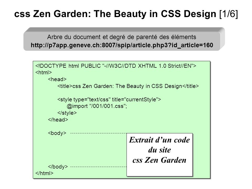 css Zen Garden: The Beauty in CSS Design [1/6]